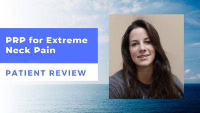 PRP for Extreme Neck Pain – Tori's Patient Review
