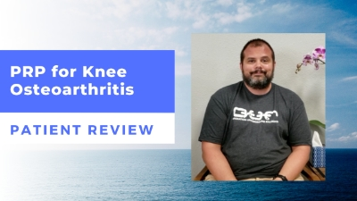 PRP for Knee Osteoarthritis – DJ's Patient Review