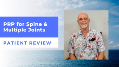 PRP for Spine & Multiple Joints – Dr. Novak's Patient Review